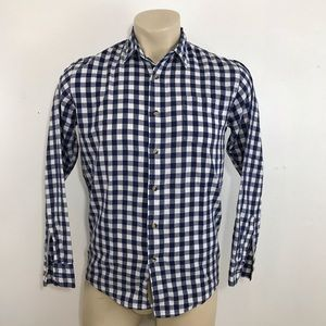 Wrangler plaid button shirt size small